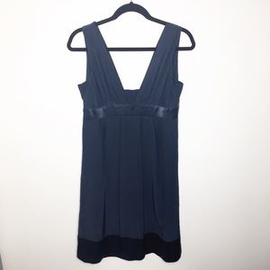 Graham & Spencer blue silk babydoll dress